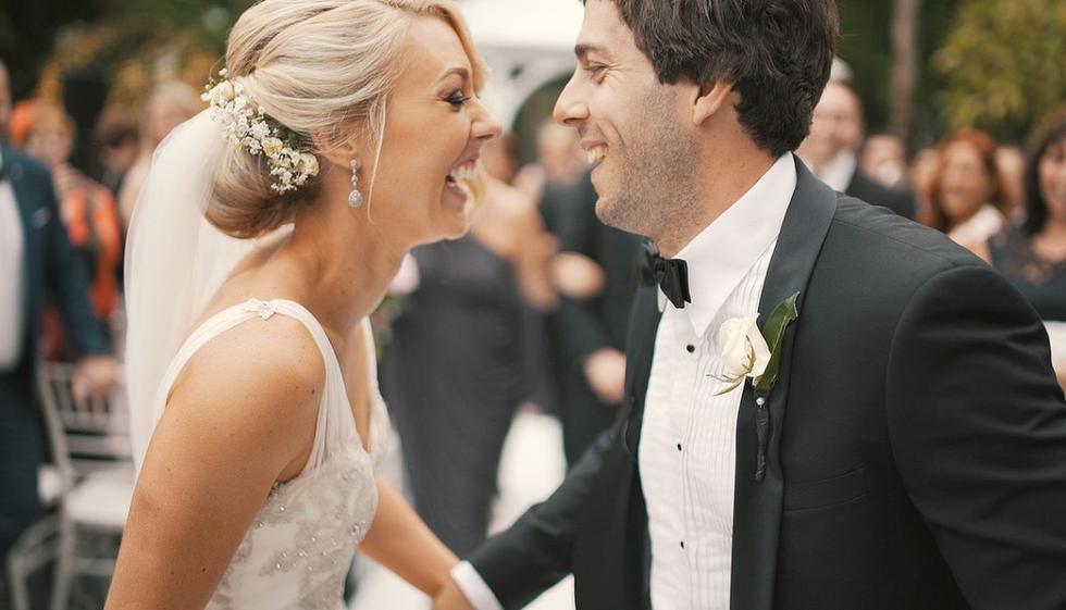 Los invitados a la boda, y la misma novia, jamás imaginaron vivir tan mágico momento. (Foto: Pixabay)