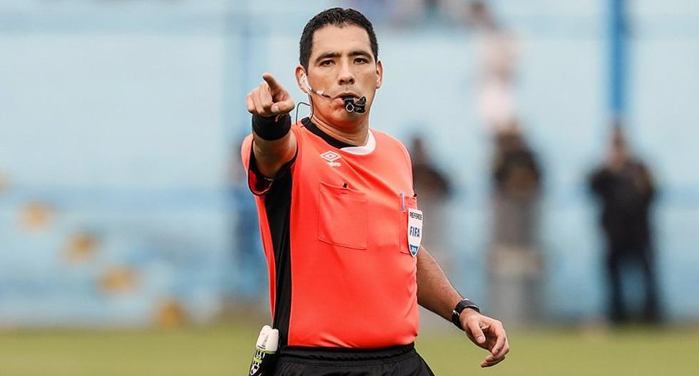 Diego Haro dirigirá este lunes el Paraguay-Bolivia. (Foto: Liga 1)