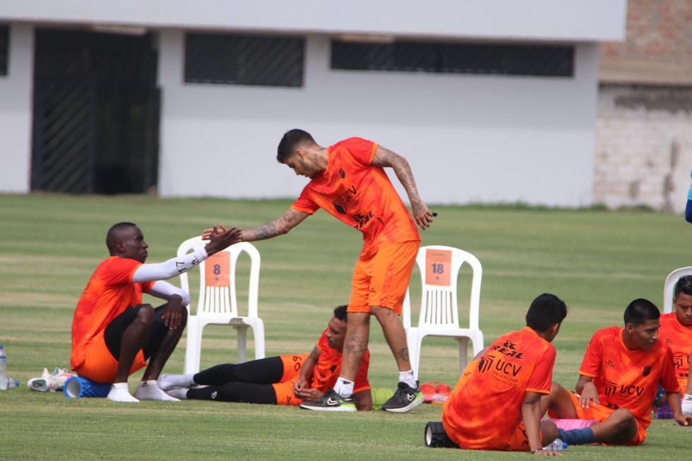 Beto Da Silva se unió a los entrenamientos de Vallejo. (Foto: César Vallejo)