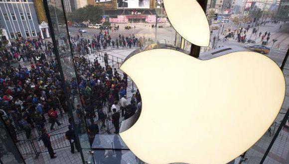 Tiendas. Apple opera 472 tiendas en 18 países
