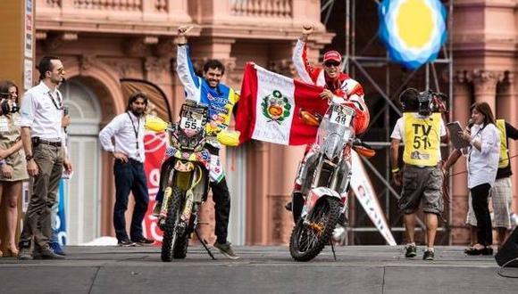 Dakar 2015: Felipe Ríos y Tato Heinrich acabaron la etapa 2