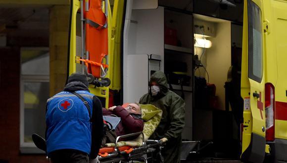 Coronavirus en Rusia | Últimas noticias | Último minuto: reporte de infectados y muertos hoy, sábado 26 de diciembre del 2020. (Olga MALTSEVA / AFP).