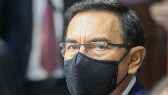 Martín Vizcarra acusó al informe de Jim Alí Mamani de apelar a mentiras para inhabilitarlo del proceso electoral.  (Foto: Andina)