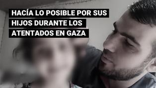 Ahmad Mansi: falleció el padre que luchaba por mantener distraídos a sus hijos durante ataques en Gaza