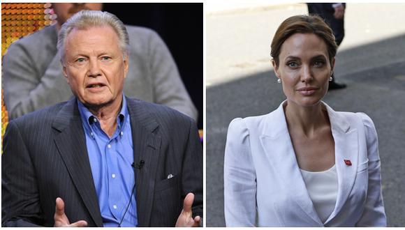 Angelina Jolie no invitó a su padre Jon Voight a su boda