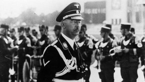Heinrich Himmler fue jefe de las SS nazi y arquitecto del Holocausto. (Getty Images).