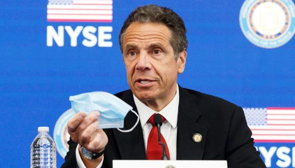 En las últimas semanas, Andrew Cuomo había anunciado que responsables del estado revisarían la futura vacuna contra la covid-19 y que recomendaría a los neoyorquinos que no se vacunaran hasta que las autoridades de Nueva York completaran el proceso. (Foto: EFE/EPA/JUSTIN LANE/Archivo).