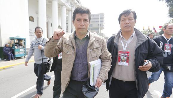 """""""Nosotros hemos propuesto, desde el primer momento, una nueva Constitución"""", escribe Pedro Castillo. (Foto: Alonso Chero)"""