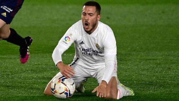 Eden Hazard confiesa que aún siente temor por su tobillo. (Foto: AFP)