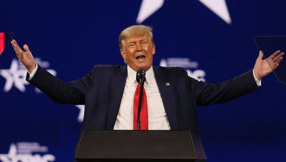 """Donald Trump dijo que la suspensión era """"un insulto"""" para los millones de estadounidenses que votaron por él en las elecciones presidenciales de 2020. (Getty Images)."""