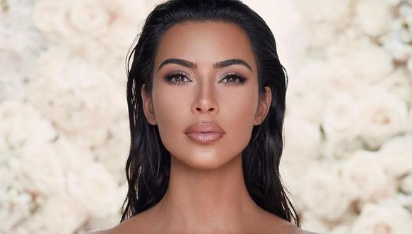 Kim Kardashian sorprende a sus seguidores con su nueva línea de maquillaje y con su nueva apariencia