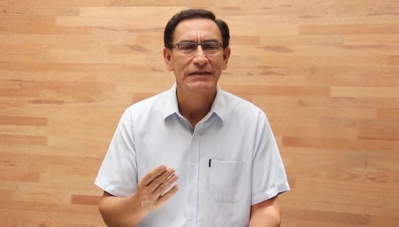 Martín Vizcarra aseguró que no renunciará a su candidatura al Congreso de la República | Foto: Facebook / Martín Vizcarra