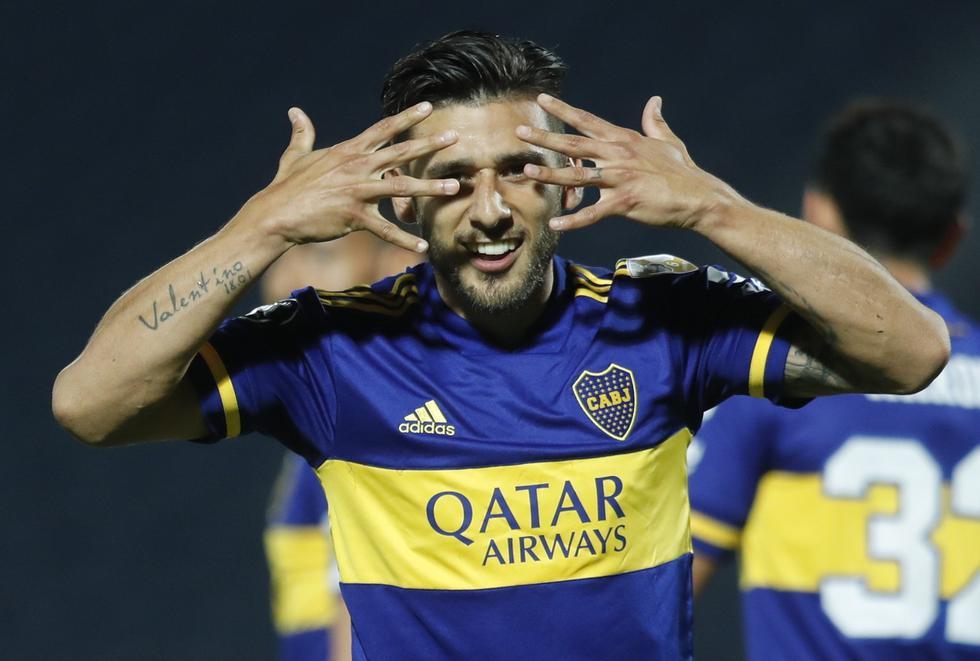 Boca Juniors enfrentó a Libertad por la Copa Libertadores