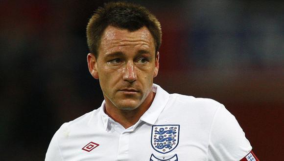 John Terry no jugará amistoso ante Perú en Wembley