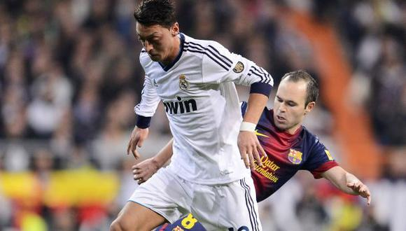 Mesut Özil confesó por qué prefirió Real Madrid sobre Barcelona