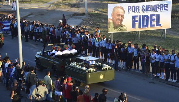 A tres años de la muerte del autor de la Revolución Cubana, presentamos Nueve días sin Fidel, un documental que muestra cómo vivió la isla la pérdida de Castro. (AFP)