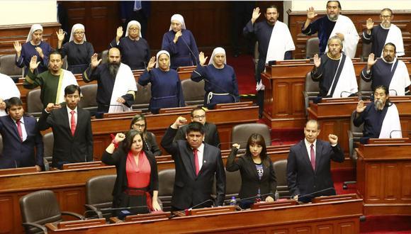 Los nueve partidos que están representados en el actual Congreso recibirán, cada uno, más de un millón de soles. (Foto: GEC)