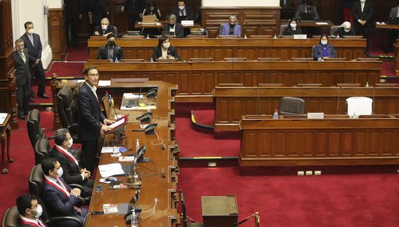 Este es el discurso completo del presidente Martín Vizcarra ante el Congreso (Foto: Presidencia)