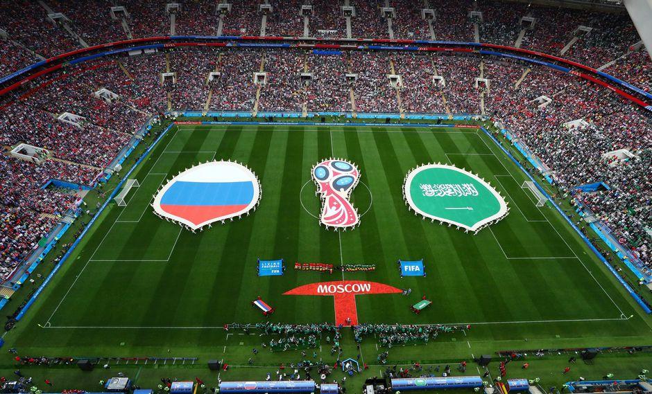 Mundial Rusia 2018 comenzó con la ceremonia de inauguración, que contó con el presidente Putin, Ronaldo y varios artistas musicales. (Foto: Reuters)