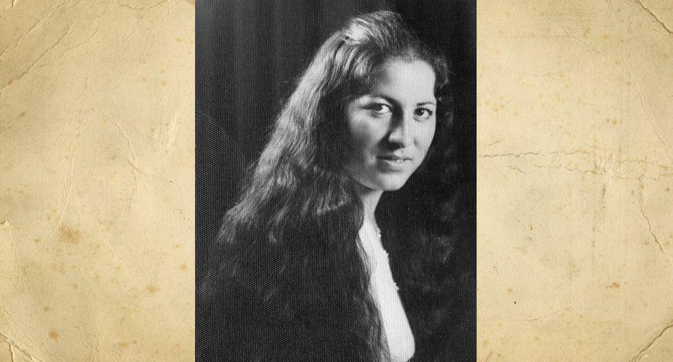 Aurora Mejía en 1978. Tenía 22 años, estudiaba tequigrafía y mecanografia. Actualmente tiene 4 hijos y ningún nieto.