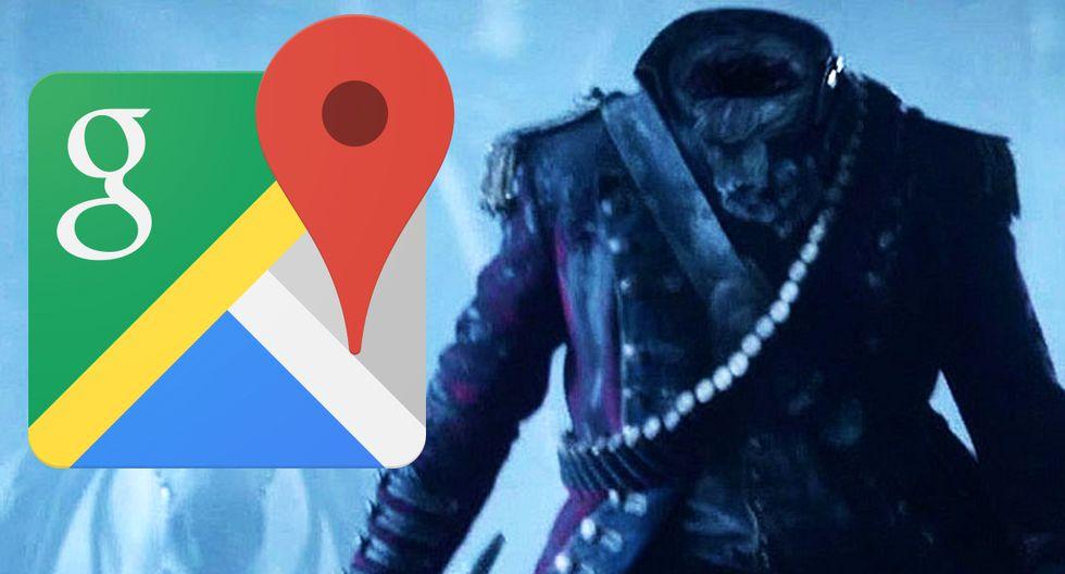 ¿Captaron al jinete sin cabeza en Perú? Esta es la imagen de Google Maps que ha generado pánico en usuarios. (Foto: Google)