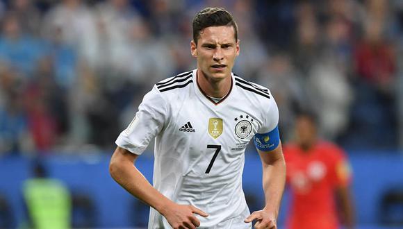 Julian Draxler obtuvo el Balón de Oro de la Copa Confederaciones gracias a su destacada labor a lo largo de la competición. Además fue el capitán de la selección alemana. (Foto: AFP)