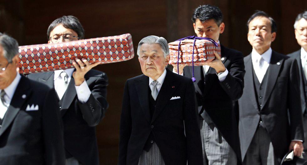 Akihito, emperador saliente de Japón. (Foto: EFE)