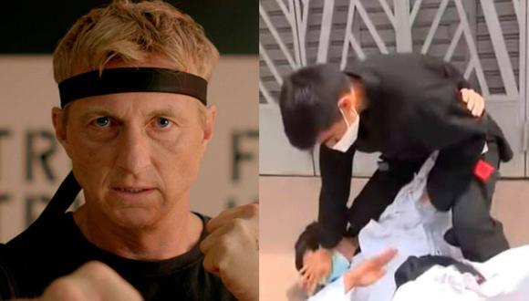 Un experto en artes marciales frustró el robo de una cartera tras perseguir al ladrón y lo redujo con una maniobra de jiu jitsu japones. (Foto: Netflix y ATV)