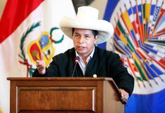 Pedro Castillo en la OEA: Internacionalistas señalan ambigüedad en el discurso del mandatario