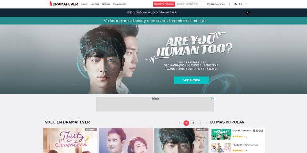 11. Para los amantes de las series y películas coreanas, DramaFever es la salvación (Foto: DramaFever)