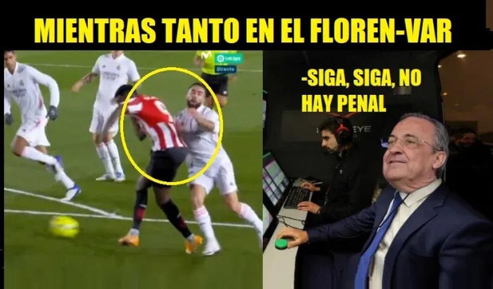 Real Madrid vs. Athletic Club: mira los memes que dejó el triunfo 3-1 de los merengues en LaLiga. (Foto: Facebook)