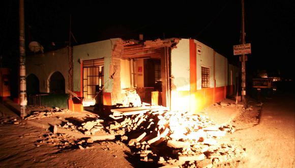 Destrucción dejada por el terremoto en Lima y el sur del país. FOTO: ROLLY REYNA/EL COMERCIO