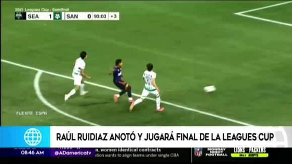 This was the goal of Raúl Ruidíaz in the victory of the Seattle Sounders