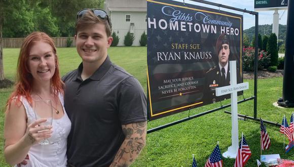 Ryan Knauss fue uno de los 13 militares fallecidos en los atentados al aeropuerto de Kabul, en Afganistán, del pasado 26 de agosto de 2021.   Crédito: wbir.com / wate.com