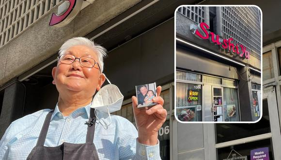Kang Lee no tiene idea de qué es TikTok, pero gracias a la iniciativa de su nieto en la mencionada red social ahora su negocio experimenta un renacer tras varios meses de incertidumbre a causa de la pandemia. | Crédito: Matt Howerton / wfaa.com / @andrewrafaelkim