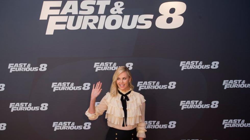"""La actriz Charlize Theron promocionando """"Rápidos y Furiosos 8"""" en Madrid, España. (Foto: Reuters)"""
