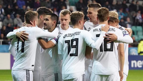 Alemania vs. Estonia. (Foto: AFP)