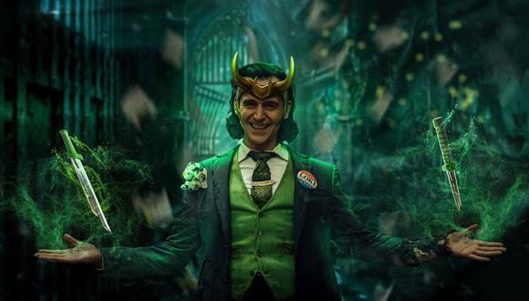 Tom Hiddleston como Loki en la nueva serie de Disney+, a estrenarse este 9 de junio. (Foto: Marvel Studios/Disney+)