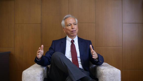 """Aldo Vásquez indicó que las suspensiones que se han definido en contra de magistrados son """"medidas cautelares"""" y no adelantan la decisión """"de fondo"""". (Foto: GEC)"""
