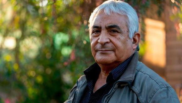 Para Omar Reygadas, lo más bonito al salir de la mina fue abrazar a su hijo. (Foto: Getty Images, vía BBC Mundo).