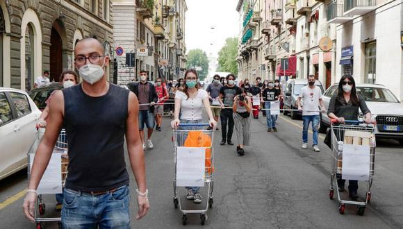 Coronavirus en Italia | Ultimas noticias | Último minuto: reporte de infectados y muertos hoy viernes 22 de mayo del 2020. | Covid-19 | (Foto: EFE/EPA/ANDREA FASANI).