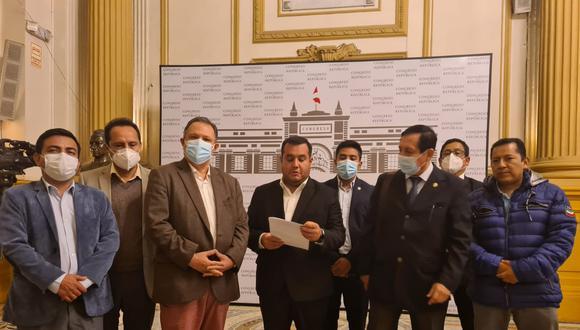 Voceros de diversas bancadas se pronunciaron sobre la presidenta de Congreso, Mirtha Vásquez. (Foto: GEC)
