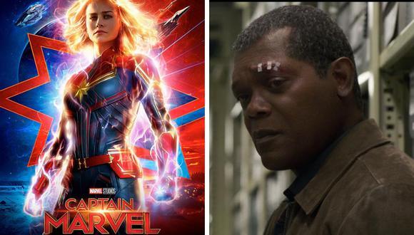 Samuel L. Jackson reveló un detalle de Captain Marvel que hizo saltar hasta el techo a más de un seguidor del MCU. (Foto: Marvel Studios)
