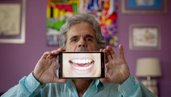 Julio Hevia nos mostraba su mejor sonrisa. (Foto: Richard Hirano)