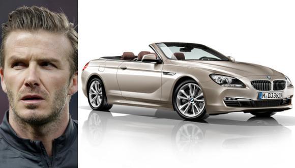David Beckham pone a la venta uno de sus más lujosos autos