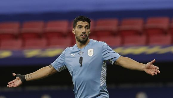 Chile y Uruguay se enfrentan por la fecha 3 de la Copa América. (AP Photo/Eraldo Peres)