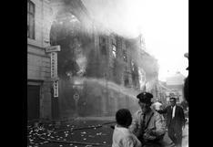 Lima vivió el fuego en sus entrañas