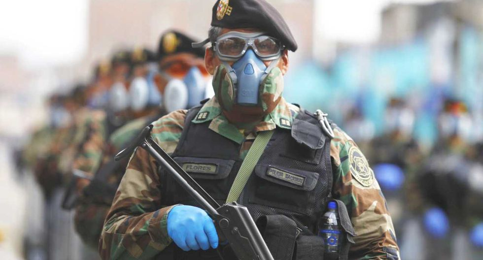 Los 6.678 respiradores han sido distribuidos a policías de la Dirección de Operaciones Especiales (Diroes); la Dirección de Seguridad Integral; y la Dirección de Tránsito, Transporte y Seguridad Vial (Foto: GEC)