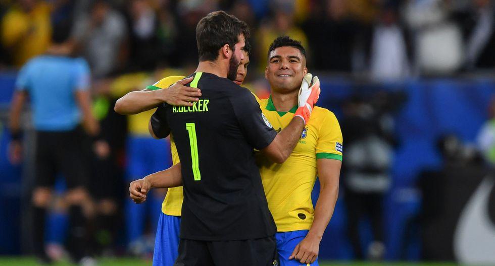 Alisson, la mano que ahoga los goles, levantó la Copa América con Brasil y puede ganar el Balón de Oro | Foto: AFP