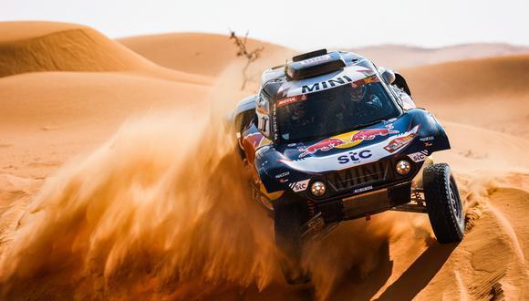 Carlos Sainz firmó un doblete en la presente edición del Dakar 2021   Foto: Dakar